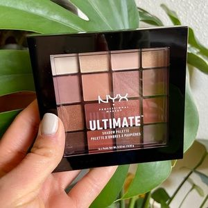 New NYX Ultimate Shadow Palette Warm Neutrals